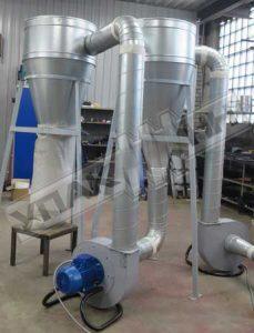 Система охлаждения гранул