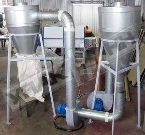 Система охлаждения гранул Упак 4