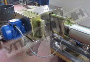 Смена сетки гранулятора Упак 4