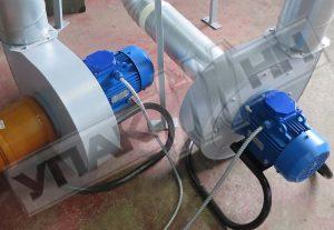 Вентиляторы гранулятора Упак 4